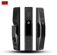 Rongshenda FX90 reconhecimento de face de impressão digital fechadura da porta do agregado familiar automática anti-roubo bloqueio cara a cara reconhecimento escova senha fechadura da porta