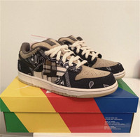 TS X SB Düşük Paten Spor Koşu Ayakkabıları Erkek Eğitmenler Mulheres Tasarımcı Sneakers TS Dunks Tamanho US5.5-11