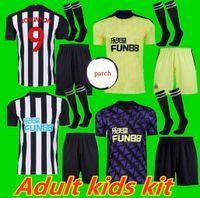Adulto Kids Kit 20 21 N Ewcastle Ritchie Futebol Jerseys Home Away Terceiro United Joelinto 2020 2021 Home Lascelles Shelvey Football Yedlin Sh