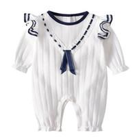 NEW الأزياء مجموعة ملابس الاطفال لطيف 100٪ قطن الوليد الرضيع بنين وبنات رومبير الخريف الربيع سترة القفز