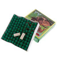 100 piezas con pegamento en la piscina Billar Snooker Cue Consejos 9mm 10mm Cabeza punta de repuesto