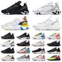 2020 STOCK X Nike Air Max 270 React Travis Scott Herren Laufschuhe TOP QUALITÄT Travis Triple White Black Gym Red SAFARI Damen Designer Sneakers EPIC Turnschuhe