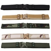 a2 Inch Tactical Belt Unisex Durable Canvas Material Hunting...