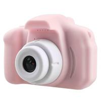 كاميرا X2 الأطفال البسيطة كاميرا فيديو 2 بوصة الصور الرقمية شاشة Chargable الرقمية البسيطة Camerafor طفل هدية