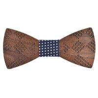 ربطات الرقبة linbaiway الأزياء الخشبية بووتي للرجال الدعاوى الجنرال القوس اليدوية الخشب حزب فراشة التعادل رجل التبعي