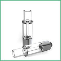 Yeni Tüm-Cam yuvarlak ucu Vape Kartuşları vape tankı vape kalem atomizör özel üst hava deliği Vaporizer Packaging