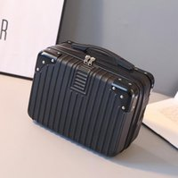 New Style Suitcase Women Small Makeup Bag Light Portable Tra...