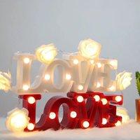 nalised Liebe Herzen, Buchstaben mit LED-Leuchten für die Innen-, dekorative Zeichen, Nachtlicht, Festzelt, Hochzeitsgesellschaft Dekor, Geschenk, 3D
