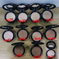Высокое качество Makup Face Powder NC NW Puff 15G DHL Бесплатная доставка