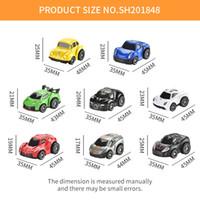 48PCS / Lot Pull bonito Mini Diecast Car Alloy Voltar Toy Modelo Veículos metal colorido bonito Toys Car Alloy Car For Kids presente AAA