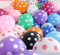 """12"""" Lekeli balonlar, düğün iyilik, brithday süslemeleri balonları lateks, parti ürün balon"""