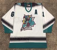 2020 Seltene Vintage Rick Nash London Knights Hockey Jersey Stickerei genähtes fertigen jede Nummer und Name Trikots