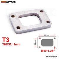 EPMAN высокая эффективность T3 Turbo Manifold Турбонагнетатель Турбина Фланец 11мм толщиной Мягкая сталь EP-CGQ22H иметь в запасе