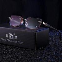 نظارات القراءة الفاخرة الرجال النساء الماس قطع الراتنج واضح عدسة HD مكافحة الضوء الأزرق نظارات للبصر النظارات الديوبتر بدون شفة