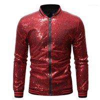 İnce Hırka Coat Erkek Lüks Kabanlar Tasarımcı Erkek Gece Kulübü Ceket Moda Pullarda