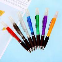 Penna a spruzzo a sfera Penna Plastica Spray Perfume Spray a sfera Penna a spruzzo dell'alcool 7 colori Forniture per ufficio T3i51119