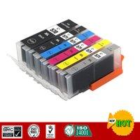 Cartuchos de tinta compatíveis para CANON Cartucho PGI570 CLI571 PGI 570 Terno Pixma MG7750 MG7751 MG7752 MG7753 TS8050 TS8051 etc.