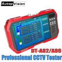 ボックスカメラDT-A86 7インチH.265 4KネットワークHD IP TVI CVI AHD CVBS CCTVカメラテスターモニター+ TDRケーブルテスト+マルチメーター+レーザーパワーメーター