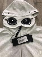19SS CP جاكيتات رجالي العلامة التجارية هوديس زيبر سترة واقية شركة المصمم البلوز سترة رجالي فاخر معاطف نظارات هود B103433L عادية