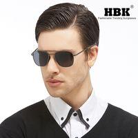 HBK 2020 amerikanische Armee AO polarisierte Sonnenbrille Pilot Tauchen Sun-Glas-Legierung Rahmen Klassische K40023P
