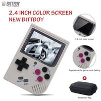 휴대용 게임 플레이어 Bittboy - version3.5 레트로 비디오 핸드 헬드 게임 콘솔 플레이어 진행 /로드 외부