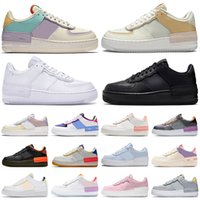 nike air force 1 forces shoes af1 airforce one piattaforma di scarpe da donna Pattino casuale tripla bianco nero Tropical Twist mens formatori esterni sneakers sport