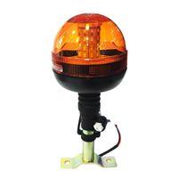 Semaforo 40/80 Luci di avvertimento a LED Emergency Flash Strobe Rotante Beacon Tractor Motor Amber per nebbioso giorno nevoso