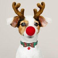الياقة عيد الميلاد الحيوانات الأليفة الكلب سنو نسيج أنثى ذكر جرو الحيوانات الأليفة القوس التعادل مطابقة الجر حبل قابل للتعديل