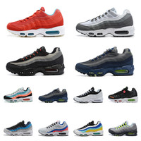 95 2020 nike airmax plus chaussures de course de qualité supérieure Triple noir blanc Runner formateurs Sports de plein air hommes baskets Free mens Run chaussure