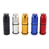 Aluminium zylindrische Cracker Punktion Flaschenöffner Pollen Presse Creme Whipper Spender Raucher Werkzeug Hohe Qualität Tragbare Halterung