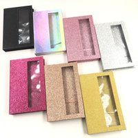 Empty lashes book 5 pairs magnetic lashes box custom private label wholesale price