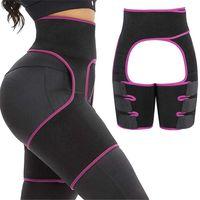 Size M XL Adjustable Women Shapewear Waist Support Body Shaper Waist-up Hip-up Leg-up Jumpsuit Waist Hip Leg Shaper Slimmer Belt