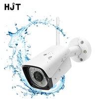 Cámaras HJT 5.0MP WiFi IP Cámara H.265 6IR Visión nocturna CCTV impermeable con tarjeta TF Slot onvif2.1 Aplicación de Camhi puede al por mayor