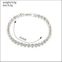 Yfjewe Charm Armband Schmuck Zubehör Armband Fanzierende Armband Womens Neue Mode Kristallarmbänder B265