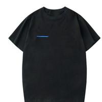 Casual 100% Cotton Mens T-shirt bianchi Anti-Shrink Donne T-shirt New Fashion Men Uomini Coreani Stile Graphic Tops 2020 T-shirt femminile, Goccia