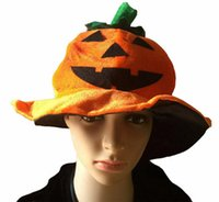 2020 Halloween-Kürbis-Kappen Pleuche Eimer Caps Designer Unisex Partei-Leistungs-Prop Frauen Männer Art und Weise Festive Gift Favor LY9272