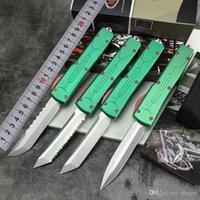 Alta qualità automatico di Microtech Ultratech Bounty Hunter coltelli automatici UT85 UTX85 strumento UTX70 VG10 lama Halo V campeggio esterno Coltelli EDC