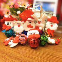 2020 Star Products Christmas Bell Small Pendant Many Santa C...