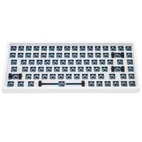 لوحات المفاتيح Keycool KC84 كيت لوحة المفاتيح الميكانيكية 84 بلوتوث 5 مقبس قابلة للتبديل الوضع المزدوج تأثير الضوء RGB التبديل LED
