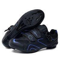 Велоспорт обувь гоночный дорожный велосипед обувь MTB кроссовки мужчин Большой размер самоблокировки открытый нескользящий спортивные со спортивными велосипедами