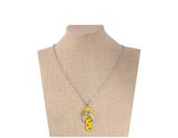 Кристалл ожерелье Chic Трусы Красиво ожерелье Rhinestone для женщин Мужчин лето ювелирных изделий цветка ожерелье цепи