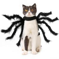 لوازم القطط اكسسوارات العنكبوت القط كلب زي تأثيري هالوين العنكبوت نمط الحيوانات الأليفة ملابس الحيوانات الأليفة رخيصة في سوق الأسهم