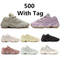 Kanye West 500 500s Desert Rat 500 Running Shoes osso 500s brancas Utility Black Salt lua super Mens amarelo formadores sneakers