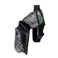 휴대용 카모 3 관 / 4 튜브 엉덩이 화살표 떨림 홀더 가방 사냥 양궁 액세서리 - 4 종류
