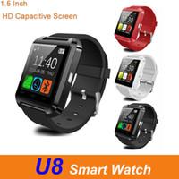 Высокое качество U8 Смарт Наручные часы с сенсорным экраном для IOS телефона Android Спящий монитор смарт-браслет браслеты с розничным пакетом