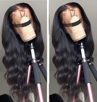 Sweetie Body Wave 13x4 Lace Front Wig 150 Density Lace Frontal Wigs Remy Brazilian Human Hair Wigs Pre Plucked With Baby Hair