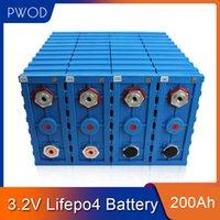 PWOD 16PCS Grad A 3.2V 200AH KALB LIFEPO4 Batterie Lithium Eisen Phosphatzelle Solar12V 24V 48V Zellen Pack EU US steuerfrei
