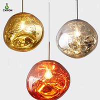 Северные светодиодные стеклянные люстры лавовые шариковые лампы подвесные светильники подвесные светильники спальни кухня люстра современной личности