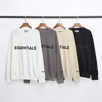 Street fashion brand FOG letter printed round neck sweater I...