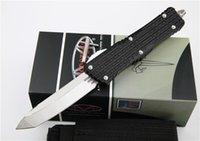 4 Style Microtech Kampf Troodon Messer Interceptor Messer Bowie / Höllenhund Tanto / Spear Punkt D2 Stahl Messer taktisches Messer